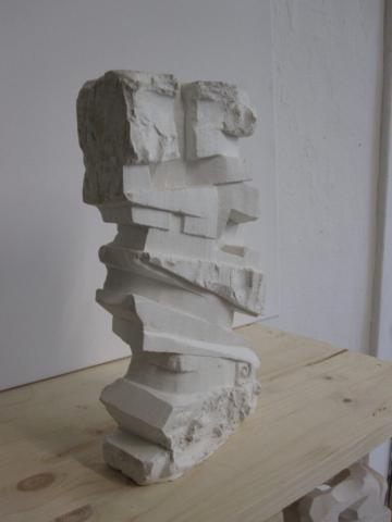 """""""Stability"""" sculpture 50 x 30 x 8 cm, Felix Rieger 2009"""